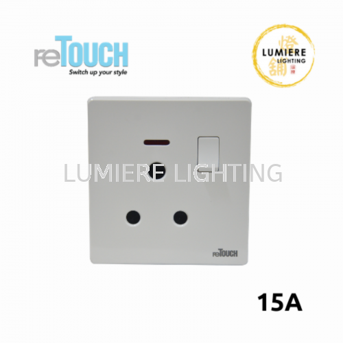 Retouch Switch 15a White