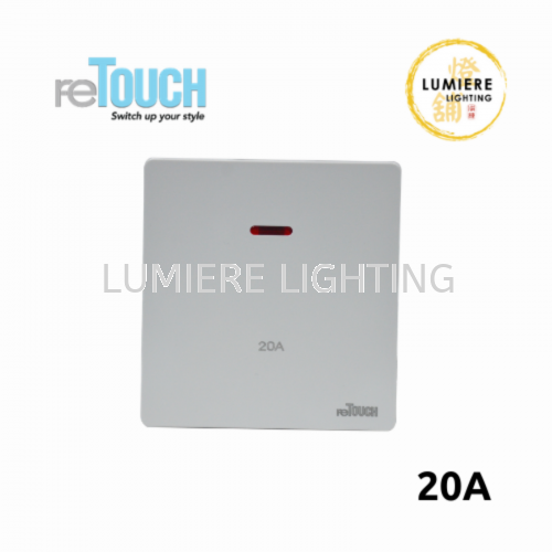 Retouch Switch 20a/45a White