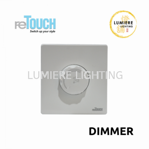 Retouch Switch Dimmer White