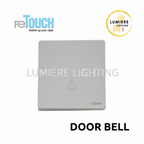 Retouch Switch Door Bell White