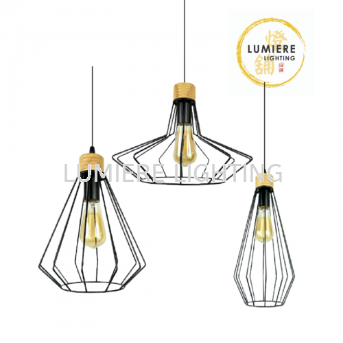 Minimalist Muji Style Single Pendant Light