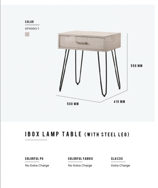 Ibox lamp table Chest drawer  Bedroom Set Melaka, Malaysia Supplier, Suppliers, Supply, Supplies   GOODMARK FURNITURE CENTRE SDN BHD