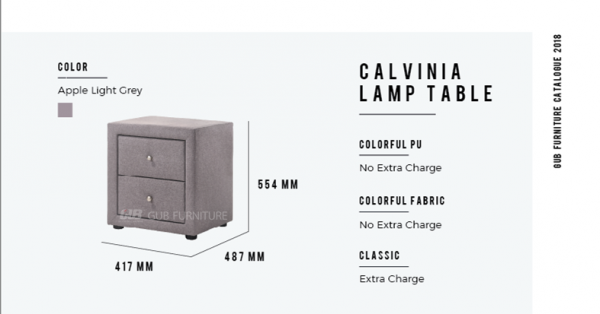Calvinia lamp table  Chest drawer  Bedroom Set Melaka, Malaysia Supplier, Suppliers, Supply, Supplies | GOODMARK FURNITURE CENTRE SDN BHD