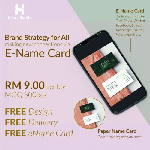 NAME CARD PRINTING PROMOTION