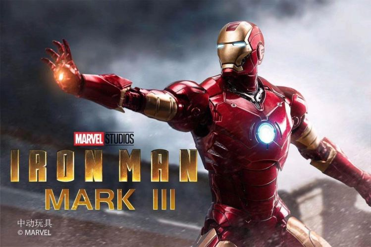 ZD Toys : Ironman MK-3 Action Figure