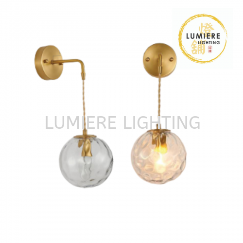 Nordic Gold Wall Light 5313-1W-AB