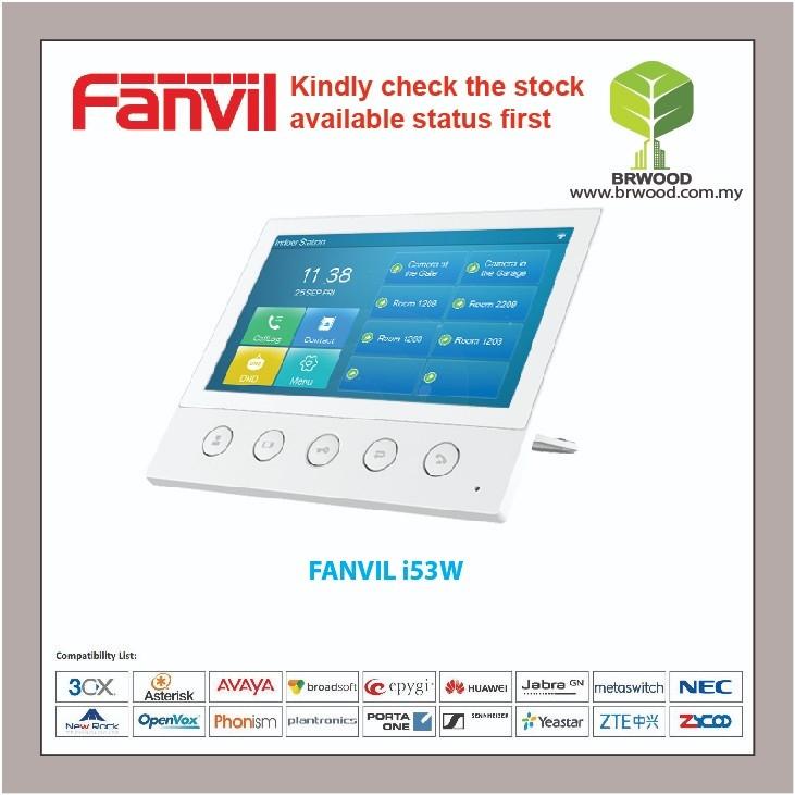 "FANVIL i53W : 7"" Touch Screen SIP Indoor Intercom Station"