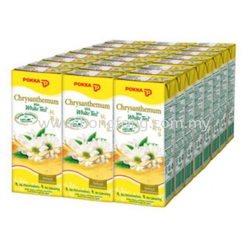 POKKA Chrysanthemum White Tea TP 250ML