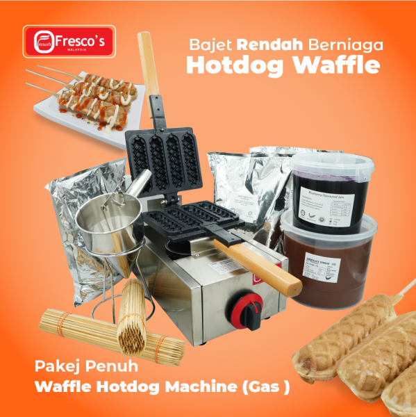 Waffle Hotdog Gas Machine Package Business Package Kuala Lumpur, KL, Malaysia Supply, Supplier, Suppliers | Fresco Cocoa Supply PLT