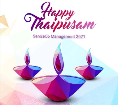 Happy Thaipusam 2021