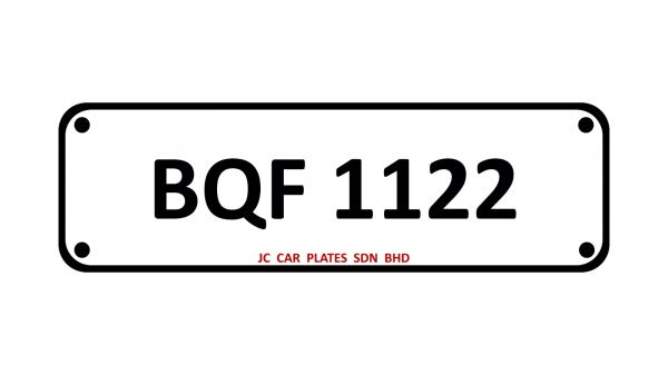 BQF 1122 SPECIAL NUMBER 4 DIGIT Kuala Lumpur (KL), Malaysia, Selangor Dealer, Supplier, Supply, Supplies | JC Car Plates Sdn Bhd