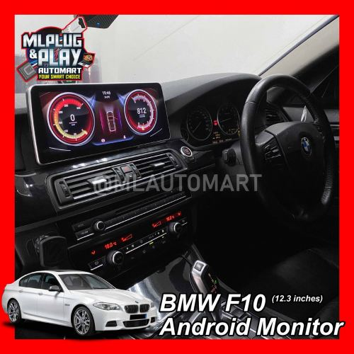 BMW 5 Series F10 / F11 - Touch Screen Android Monitor (12.3 inches)