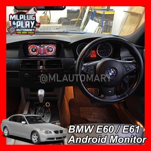 BMW 5 Series E60 / E61 - Touch Screen Android Player