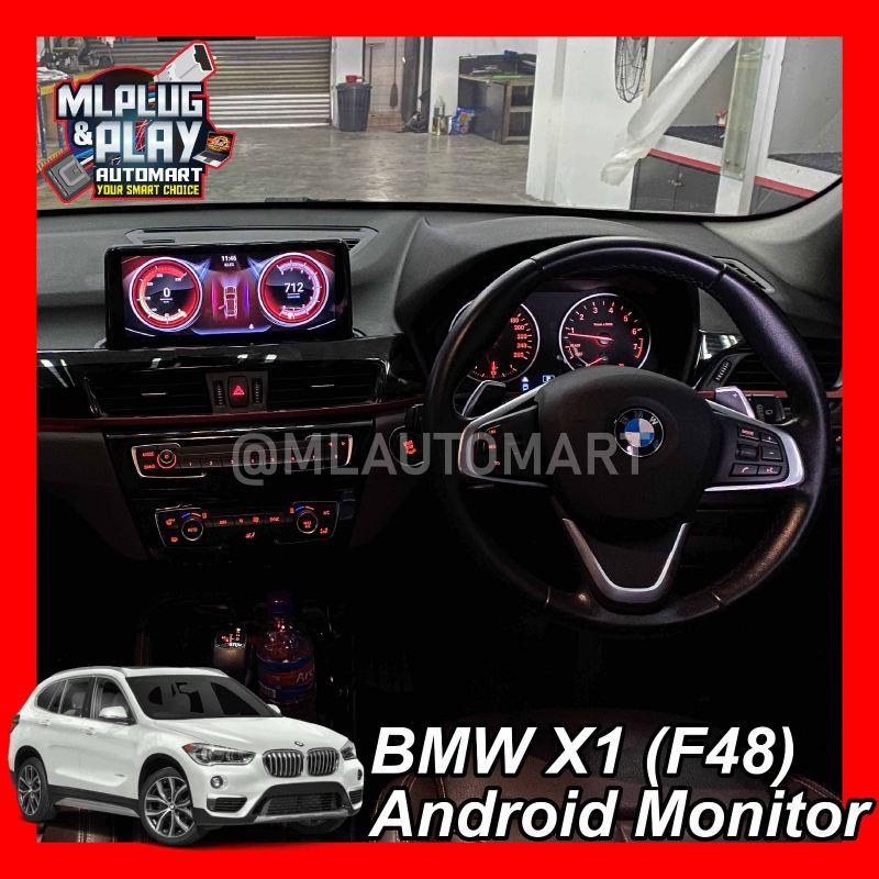 BMW X Series X1 (F48) - Touch Screen Android Monitor