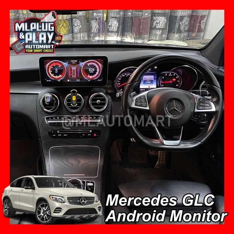 Mercedes Benz GLC Class X253  - Touch Screen Android Monitor ( GLC200 / GLC250 / GLC300 / GLC350 / GLC43 / GLC63 )
