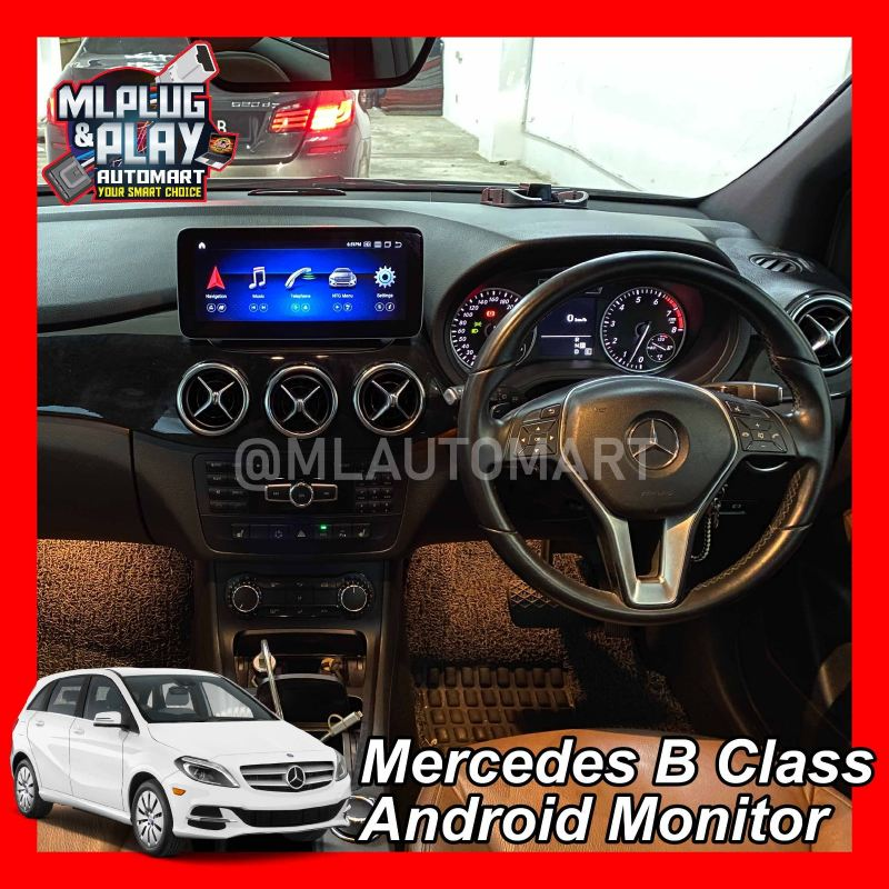 Mercedes Benz B Class W246 - Touch Screen Android Monitor ( B180 / B200 )
