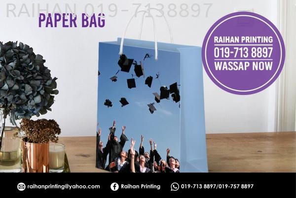 Paper Bag Paper Bag Melaka, Malaysia, Bukit Katil Printing, Services   Raihan Printing