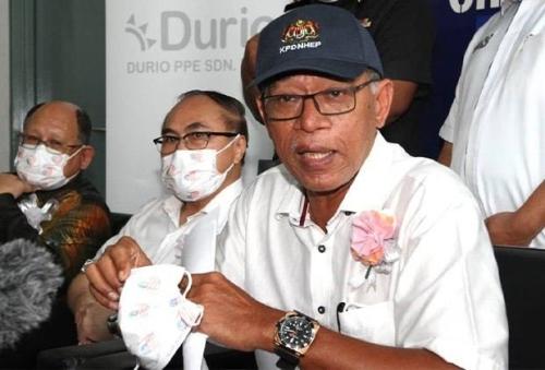 Deputy Minister Datuk Rosol Wahid Press Conference at Durio (17 Sep 2020)