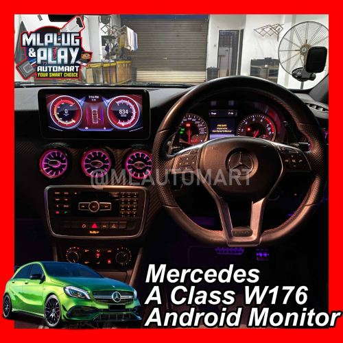 Mercedes Benz A Class W176 - Touch Screen Android Monitor ( A180 / A200 / A250 / A45 )