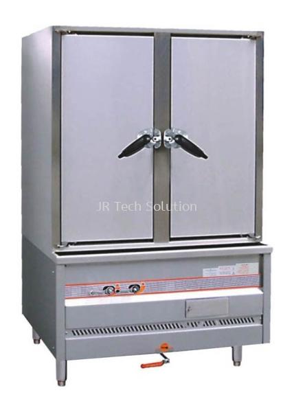 Double Door Rice Steamer ESC-2DB-N Lai Wah Hong Kong Burner Series Kitchen Equipment Penang, Malaysia, Gelugor Supplier, Suppliers, Supply, Supplies   JR-Tech Solution Sdn Bhd