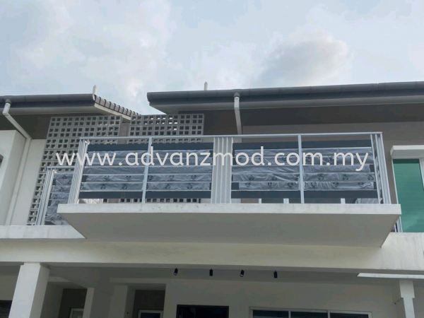 Balcony Railing With Aluminium Panels  Balcony Railing With Aluminium Panels Selangor, Malaysia, Kuala Lumpur (KL), Puchong Supplier, Supply, Supplies, Retailer | Advanz Mod Trading