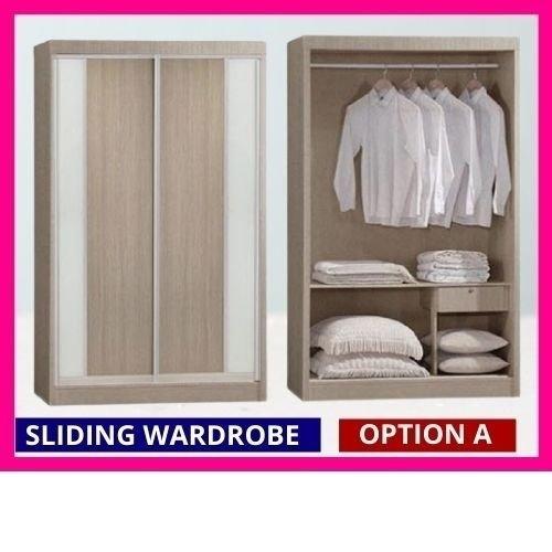 Sliding Door Wardrobe Cabinet Option A