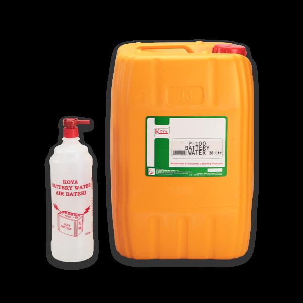P-100 Battery Water 电池水 Car Care Malaysia, Johor Bahru (JB), Ulu Tiram Supplier, Manufacturer, Supply, Supplies | TLC-KOYA CHEMICALS MANUFACTURING SDN BHD