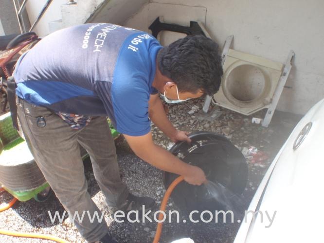 Cleaning Blower Fan