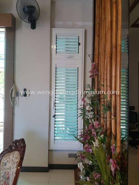Aluminium Adjustable Louvers Window Selangor, Malaysia, Kuala Lumpur (KL), Sungai Buloh Supplier, Suppliers, Supply, Supplies | Weng Cheong Glass Trading Sdn Bhd