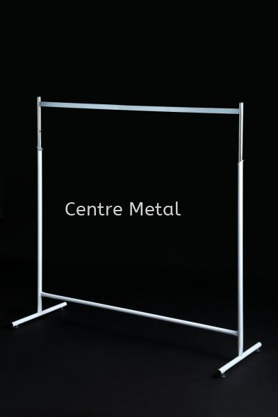 T - Shirt Stand 4' ( Chrome ) Display Rack Penang, Malaysia, Butterworth Supplier, Suppliers, Supply, Supplies   Centre Metal Industrial Sdn Bhd