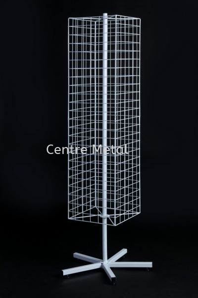 Four Way Netting Stand SQ Display Rack Penang, Malaysia, Butterworth Supplier, Suppliers, Supply, Supplies | Centre Metal Industrial Sdn Bhd