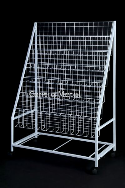 Magazine Rack 3' Display Rack Penang, Malaysia, Butterworth Supplier, Suppliers, Supply, Supplies   Centre Metal Industrial Sdn Bhd