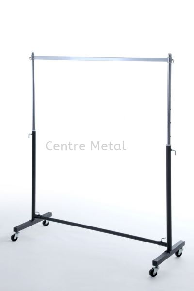 Single Square Bar T-Shirt Stand Display Rack Penang, Malaysia, Butterworth Supplier, Suppliers, Supply, Supplies | Centre Metal Industrial Sdn Bhd