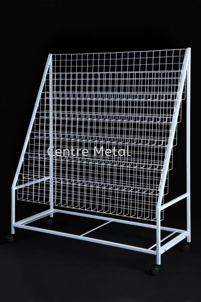 Magazine Rack 4' Display Rack Penang, Malaysia, Butterworth Supplier, Suppliers, Supply, Supplies | Centre Metal Industrial Sdn Bhd