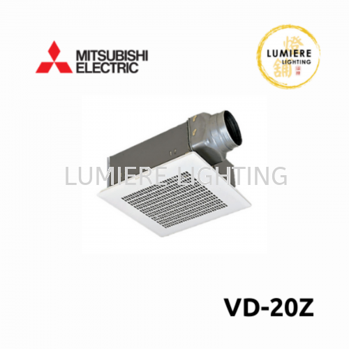 Mitsubishi VD-18/20/23 Z Duct Ceiling Mounted