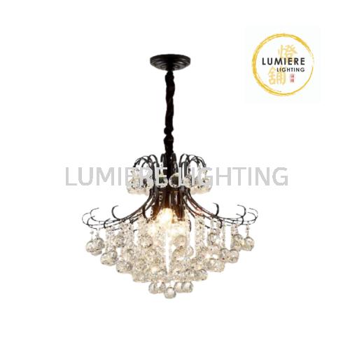 Crystal Pendant Light 13088