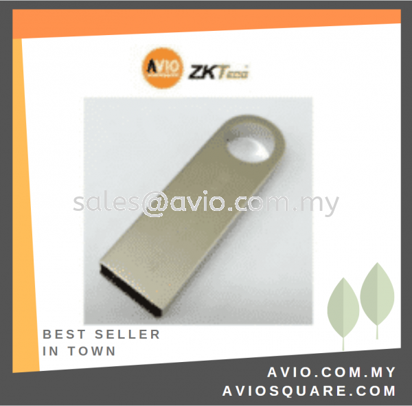 ZKTeco ZK8PDRIVE 8GB Pendrive Door Access Accessories DOOR ACCESS Johor Bahru (JB), Kempas Supplier, Suppliers, Supply, Supplies | Avio Digital