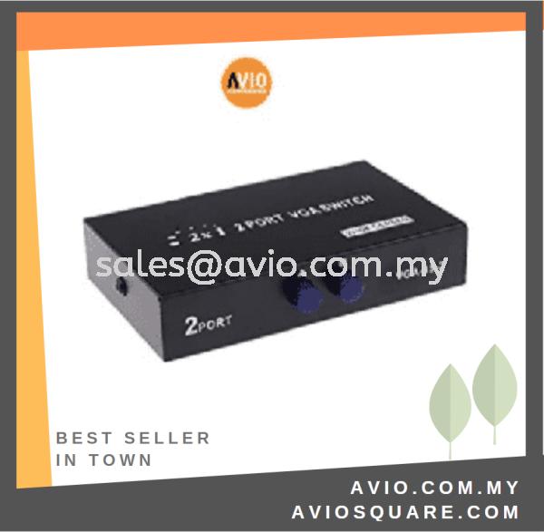 VGA-15-2 2-port VGA Manual Switcher 250Mhz CCTV Johor Bahru (JB), Kempas Supplier, Suppliers, Supply, Supplies | Avio Digital