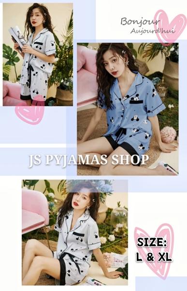 HIGH QUALITY SILK SLEEPWAER SET Women Shorts Pyjamas Set Women Sleepwear Pyjamas Johor, Malaysia, Batu Pahat Supplier, Wholesaler, Supply, Supplies | Sexy Accessories Trading