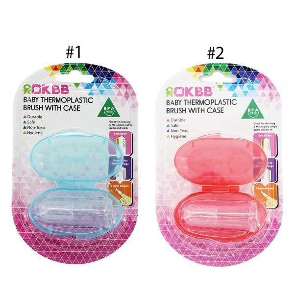 AC-016 OKBB BABY THERMOPLASTIC BRUSH WITH CASE OKBB Cleaner Bathing / Cleaning Johor Bahru (JB), Malaysia, Skudai Supplier, Suppliers, Supply, Supplies   Top Full Baby House (M) Sdn Bhd