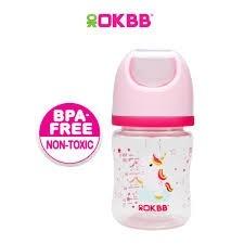 B-117 OKBB 4OZ WIDE NECK FEEDING BOTTLE UNICORN OKBB OKBB Bottle Johor Bahru (JB), Malaysia, Skudai Supplier, Suppliers, Supply, Supplies   Top Full Baby House (M) Sdn Bhd