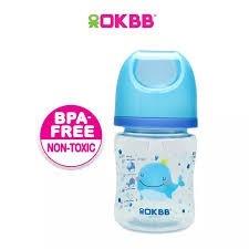 B-117 OKBB 4OZ WIDE NECK FEEDING BOTTLE WHALE OKBB OKBB Bottle Johor Bahru (JB), Malaysia, Skudai Supplier, Suppliers, Supply, Supplies | Top Full Baby House (M) Sdn Bhd