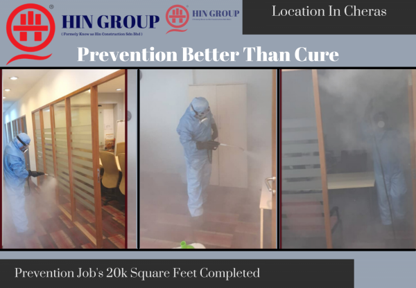 Professional Disinfection Services In One KL Office Commercials  Virus Disinfection Service Selangor, Semenyih, Kuala Lumpur (KL), Malaysia Services, Repair, Contractor   Hin Construction Sdn Bhd
