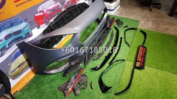 a45s front bumper pp material fit for mercedes benz a class w177 v177 replace upgrade performance look brand new set  w177 MERCEDES BENZ Johor Bahru JB Malaysia Supply, Supplier, Suppliers   Vox Motorsport