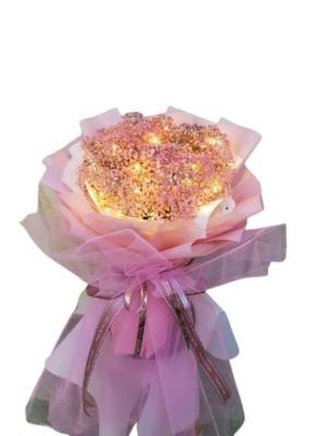 Gypsophila Bouquet with LED Light