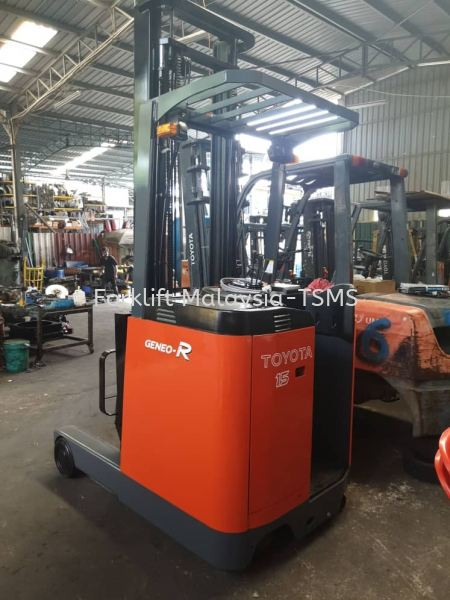 1.5 ton Toyota Electric Reach Truck 1.5 ton Toyota Electric Reach Truck On Sales Malaysia, Selangor, Kuala Lumpur (KL), Batu Caves Supplier, Rental, Supply, Supplies | Twin Star Machinery Services