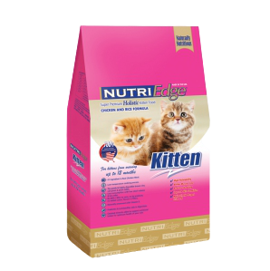Chicken & Rice Formula / For Kitten