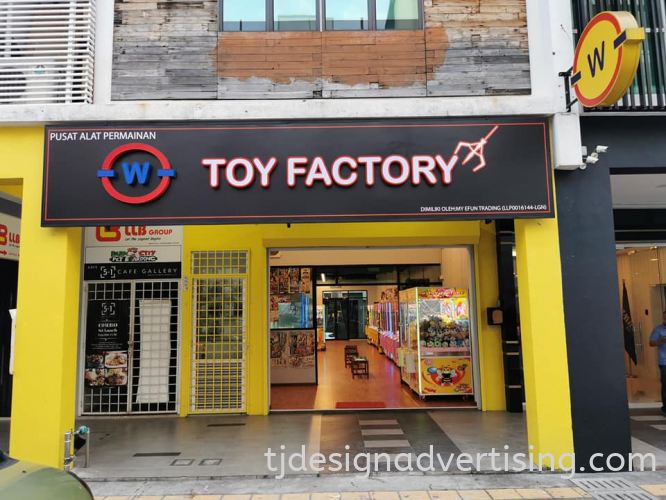 Box-Up 3D Signage - TOY FACTORY