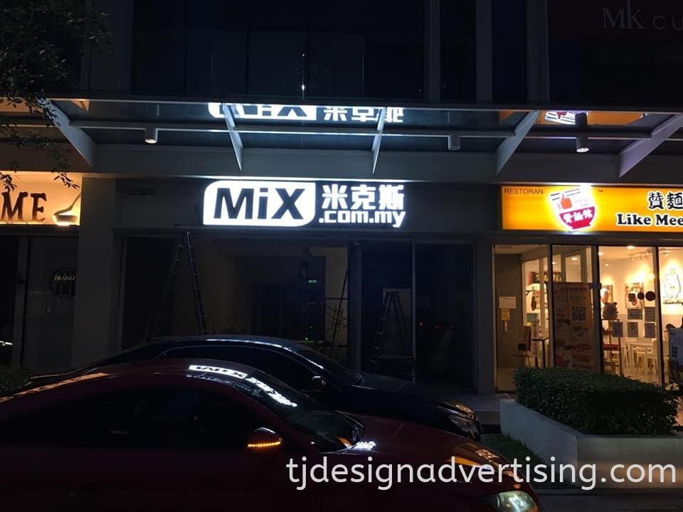 Box-Up 3D Signage - MIX.COM