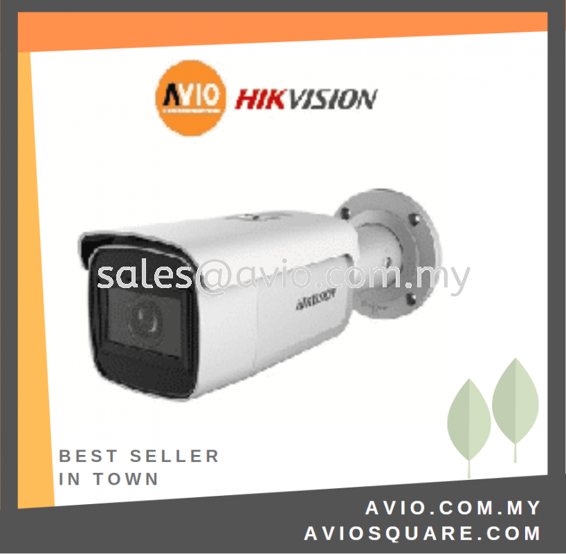 Hikvision DS-2CD2623G2-IZS 2MP Mic Bullet SD Camera